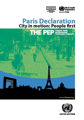 Paris Declaration - City in motion: People first